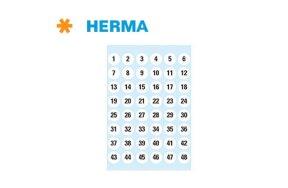 PREPRINTED LABELS HERMA N.4124